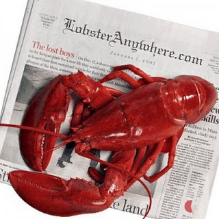 Grilled Whole Lobsters