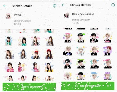 WAStickerApps Korean Idol Sticker for WhatsApp Download For Android 4