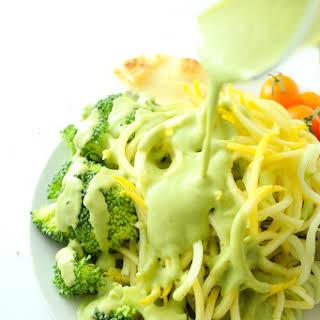 Creamy Vegan Broccoli Sauce.