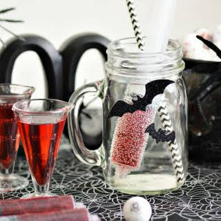 Bloodshot Halloween Drink for Kids.