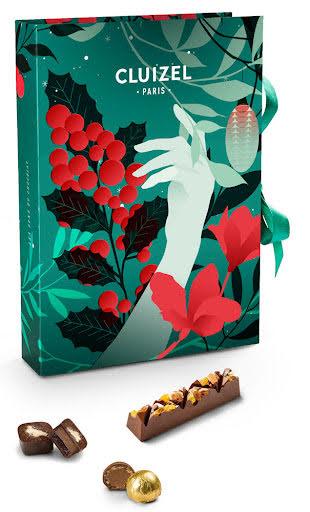 Chokladkalender/adventskalender praliner 2021 – Michel Cluizel