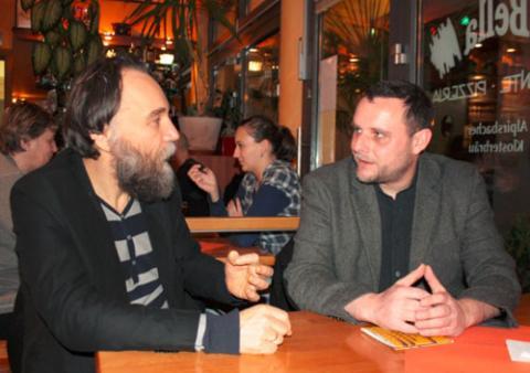 «Крайний консерватор» Мануэль Оксенрайтер с Александром ДУгиным