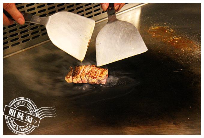 家蒂諾鐵板燒-精緻海陸套餐-美國PRIME沙朗牛排