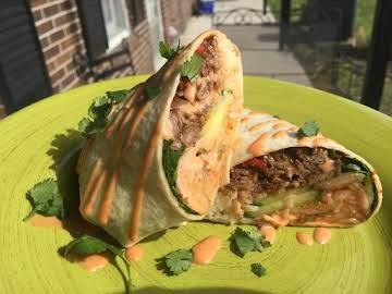 Food Truck Worthy!!! Shangrila Tang Bang Burrito!!