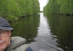 Photo: Levijoki oli komiassa vedessä.