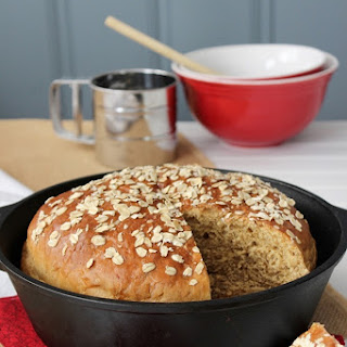 Oatmeal Casserole Bread
