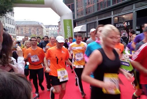 Une équipe de coureurs solidaires courent à l'Eurodistrict 2015 pour soutenir le projet de L'Arche à Strasbourg !