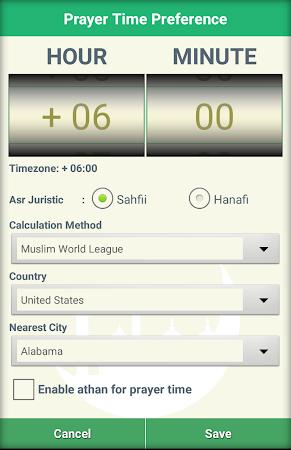 Islamic Calendar & Prayer Time 1.8 screenshot 2081431