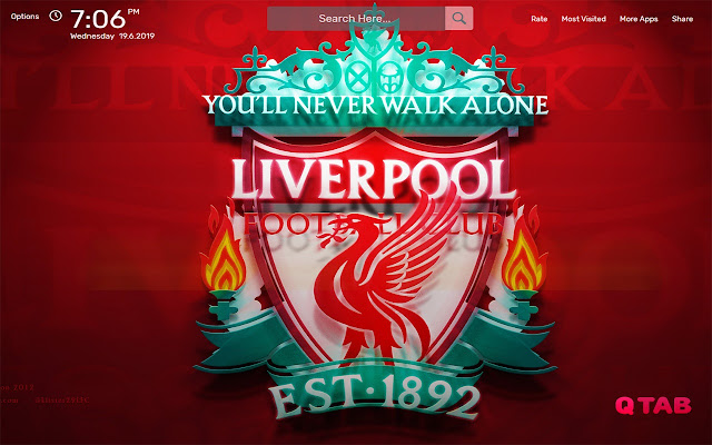 Liverpool Wallpapers HD Theme
