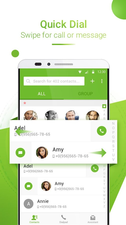PixelPhone Dialer & Contacts- screenshot