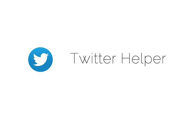Twitter Helper