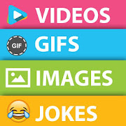 App Funny Videos GIF's Images Jokes Fun In 1 APK for Windows Phone