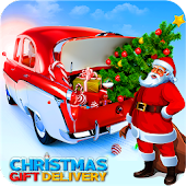Santa Christmas Gifts Car Simulator