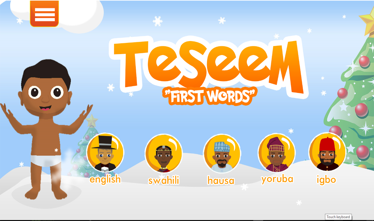Teseem - First Words for Baby- screenshot