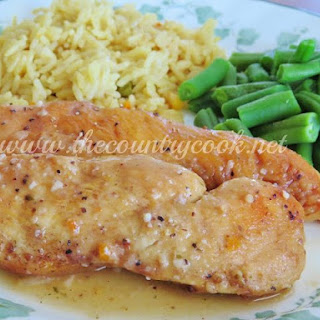 Crock Pot Lemon Garlic Chicken Recipe