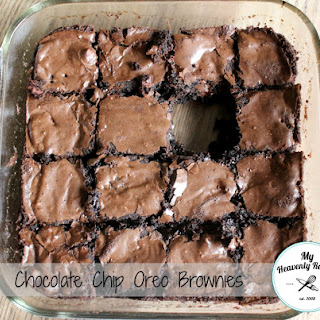 Chocolate Chip Oreo Brownie