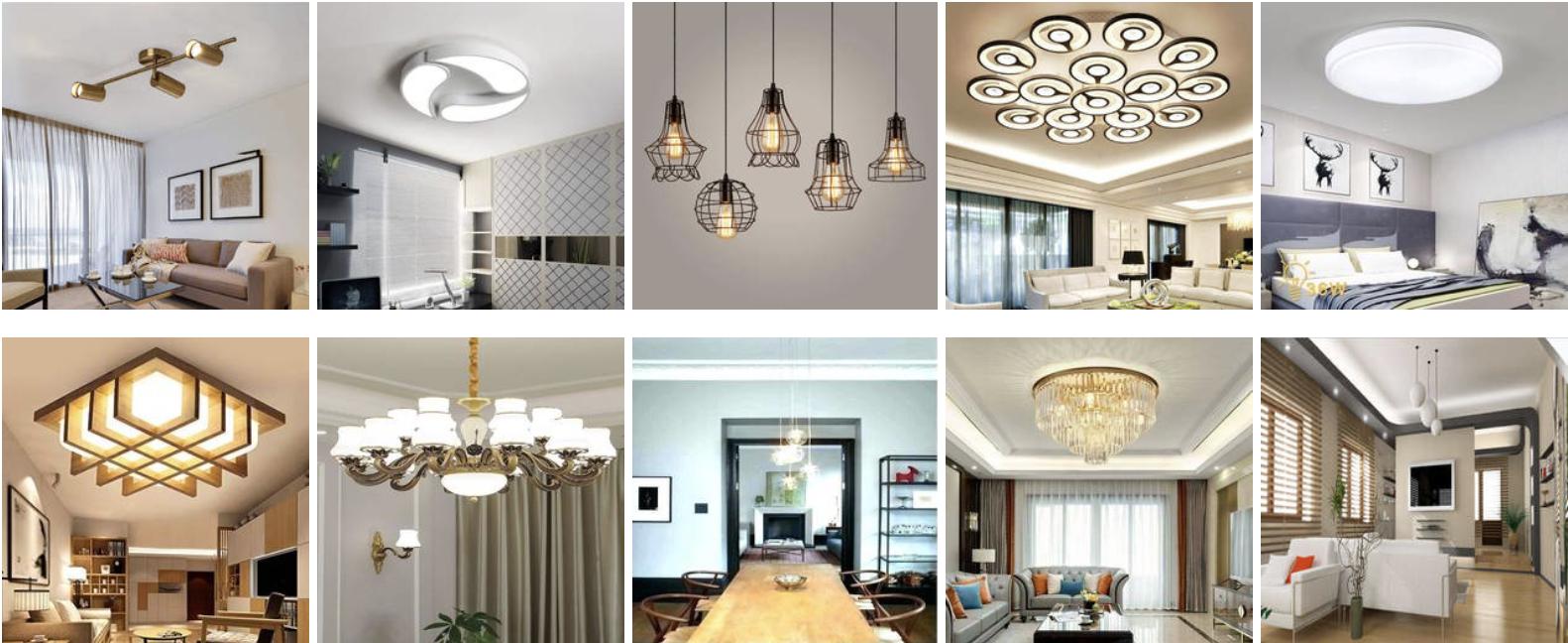 Tổng hợp các mẫu đèn trang trí trần nhà đẹp nhất