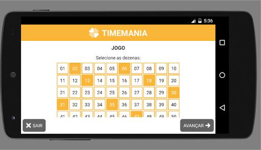 Fecha Timemania Premium
