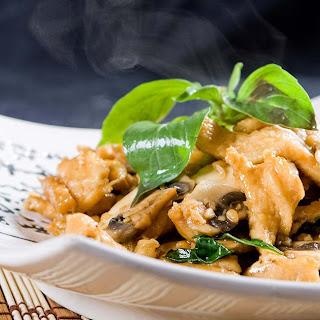 Healthy Shiitake Sautéed Mushrooms.