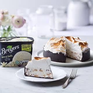 S'mores Ice Cream Birthday Pie.