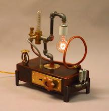 Photo: Edison lamp steampunk