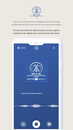 Radio Conciencia screenshot 2