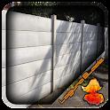 Concrete Fence Panels Design icon