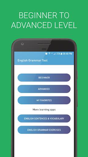 English Grammar Test 2.2.1 screenshots 1