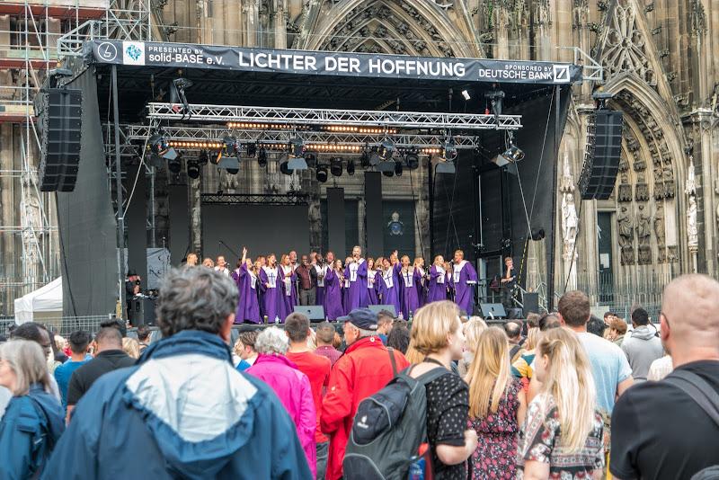A Christian Choir Sings Praise to The Good Lord