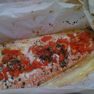 Salmon In Parchment.