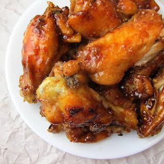 Honey Garlic Wings.