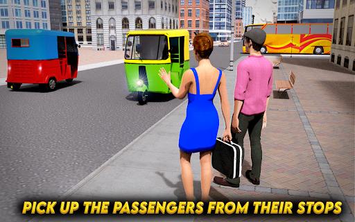 City Auto Rickshaw Tuk Tuk Driver 2019 0.1 screenshots 8