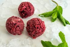 Pomegranate Açaí Sorbet