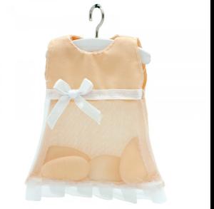 robe à dragées saumon