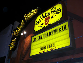 Photo: Allan Holdsworth at The Baked Potato - 1/18/08 second show.