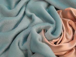 Photo: Ткань: суральпака (альпака), ш. 145 см., цена 10000р. Ткань: крепсатен нат. шелк, ш. 140 см., цена 5000р.
