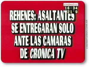Las placas rojas de cronica television! [Muchass]