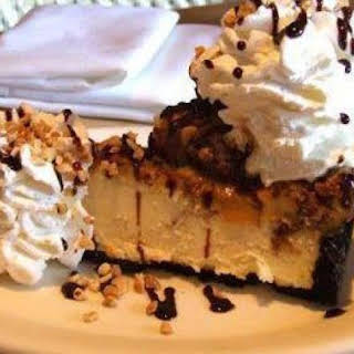 Cheesecake Factory Snickers Cheesecake.