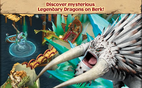 Dragons: Rise of Berk MOD 1.34.9 (Unlimited Runes) Apk 4