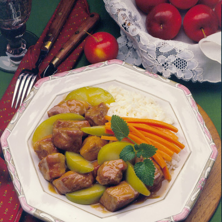 Granny Smiths' Pork Skillet Recipe