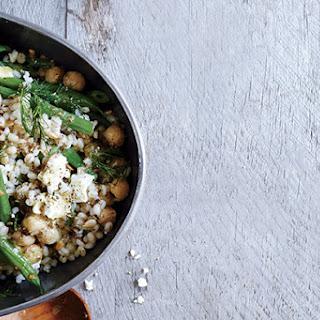Chickpea, Barley, and Feta Salad