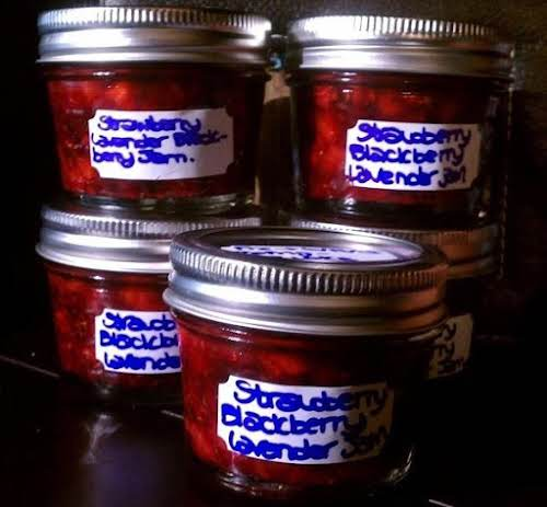 "Click Here for Recipe: Strawberry Blackberry Jam with Lavender ""It is incredible!..."