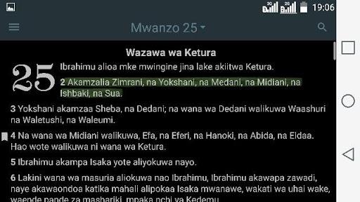 2020 Biblia Takatifu Ya Kiswahili Android App Download Latest