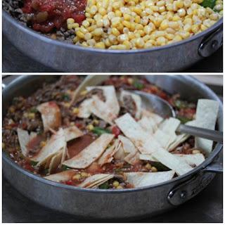 Beef Tamale Skillet Dinner Recipe