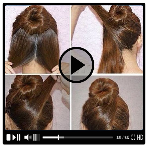 Girls Hair Styles Videos Hairstyle Tutorials 2018 Apk Download