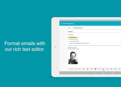 Aqua Mail - Email App screenshot