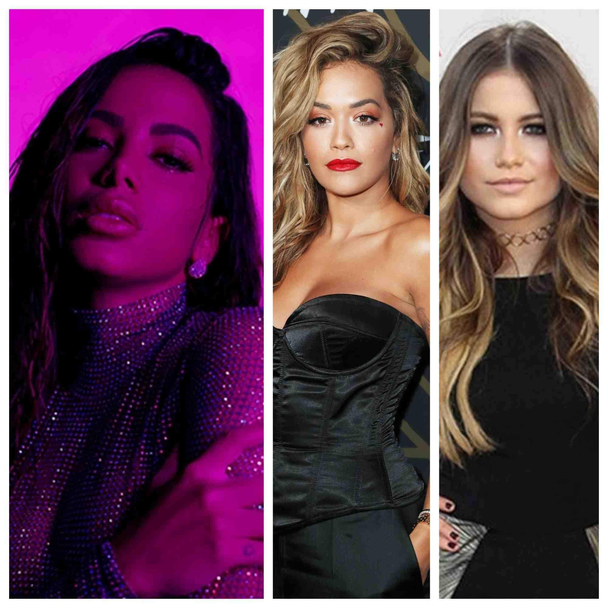 Anitta, Rita Ora e Sofia Reyes gravam clipe em Los Angeles