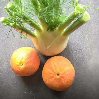 Grapefruit and Fennel juice.