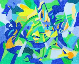 """Photo: Тадеуш Жаховский """"Пробуждение. Awakening"""",  Title: Awakening / Пробуждение  Artist:Tadeush Zhakhovskyy / Тадеуш Жаховский Medium: Painting. mixed techique on cardboard, смешанная техника, дизайнерский картон. 50 cm x 61 cm x / 20 in x 24 in. О наличии картины просьба контактировать галерею.Также предлагается напечатанная на холсте репродукция этой картины в любом размере."""