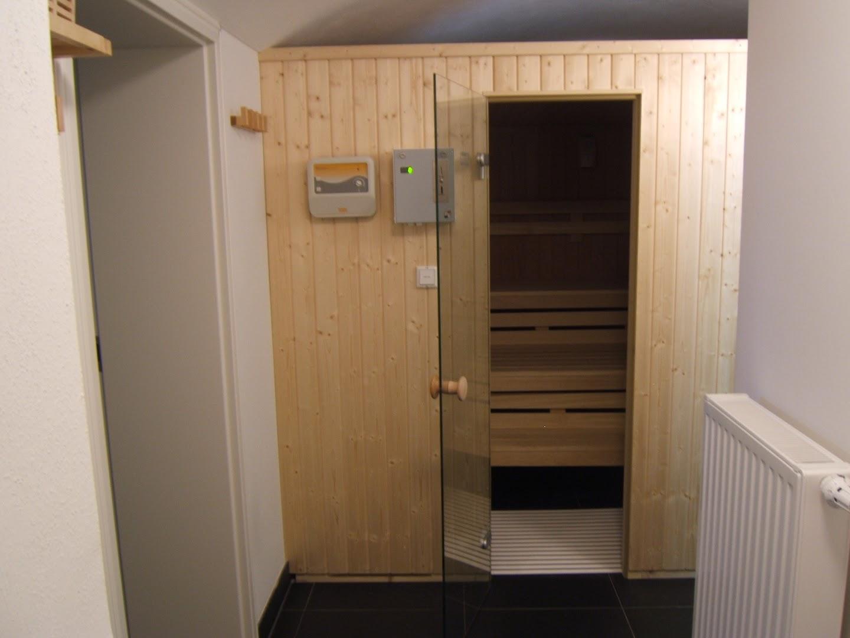 Jagdschloß zu Hohen Niendorf: Sauna